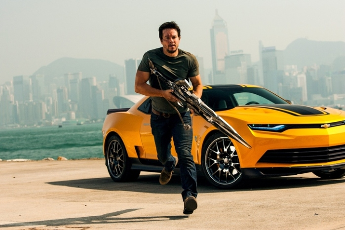 "Escena de ""Transformers: Age of Extinction""."