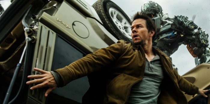 "Mark Wahlberg en ""Transformers: Age of Extinction""."