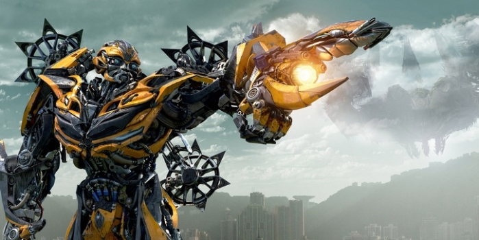 "Bumblebee en ""Transformers: Age of Extinction""."
