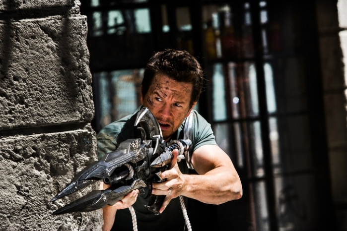 "Mark Wahlberg es Cade Yeager en ""Transformers: Age of Extinction""."