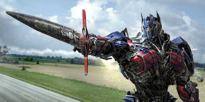 "Optimus Prime en ""Transformers: Age of Extinction""."