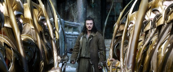 "Luke Evans es Bard en ""The Hobbit: The Battle of the Five Armies""."