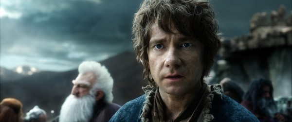 "Martin Freeman es Bilbo Baggins en ""The Hobbit: The Battle of the Five Armies""."