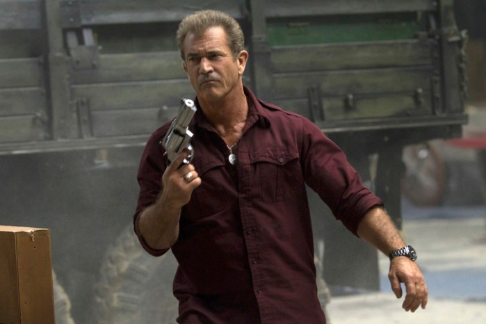 "Mel Gibson es Stonebanks en ""The Expendables 3""."