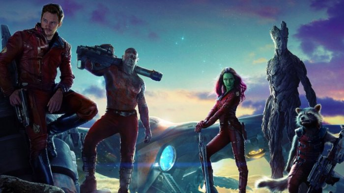 "Escena de ""Guardians of the Galaxy""."