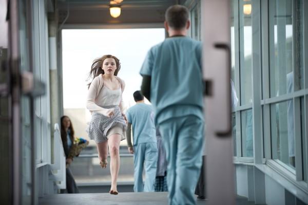 "Chloë Grace Moretz en ""If I Stay""."