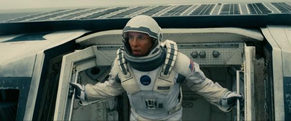 "Matthew McConaughey en ""Interstellar""."