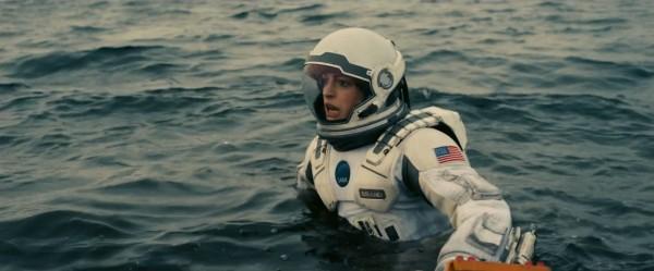 """Anne Hathaway en """"Interstellar""""."""