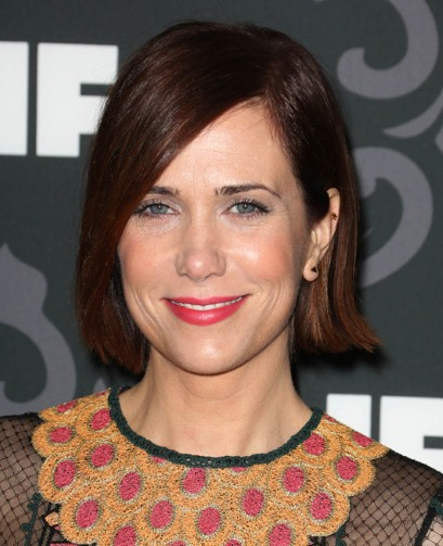 "Kristen Wiig participa en el show de TV ""Saturday Night Live"" y actúa en las películas por estrenar ""Welcome to Me"", ""Nasty Baby"" y ""The Diary of a Teenage Girl"". Ahora pone su voz en la cinta animada ""Sausage Party""."