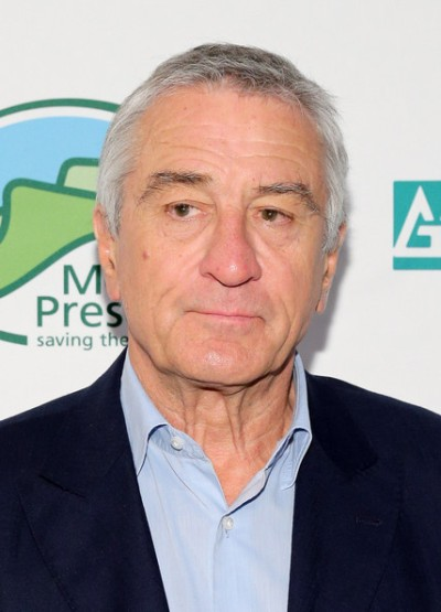 "Robert de Niro estará en cines con ""Hands of Stone"" y actualmente filma ""The Intern""."