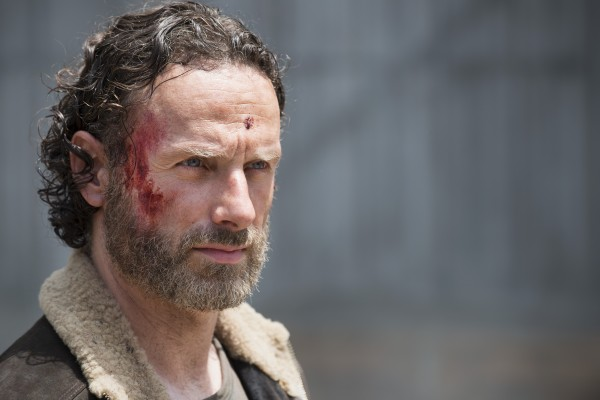 """Andrew Lincoln como Rick Grimes en la temporada 5 de """"The Walking Dead""""."""