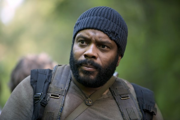 """Chad L. Coleman como Tyreese en la temporada 5 de """"The Walking Dead""""."""