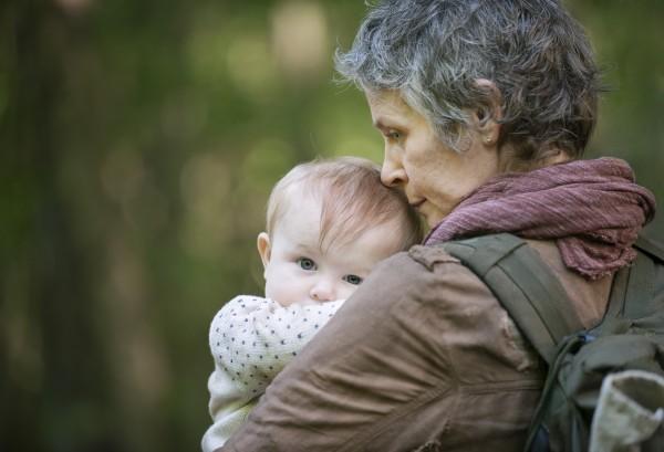 """Melissa McBride como Carol Peletier en la 5ta. temporada de """"The Walking Dead""""."""