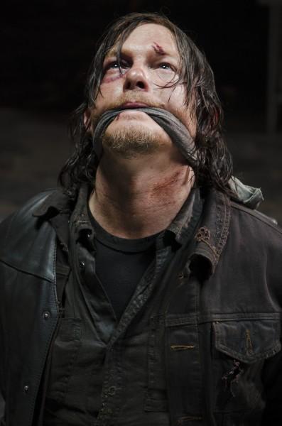 """Norman Reedus como Daryl Dixon en la 5ta. temporada de """"The Walking Dead""""."""