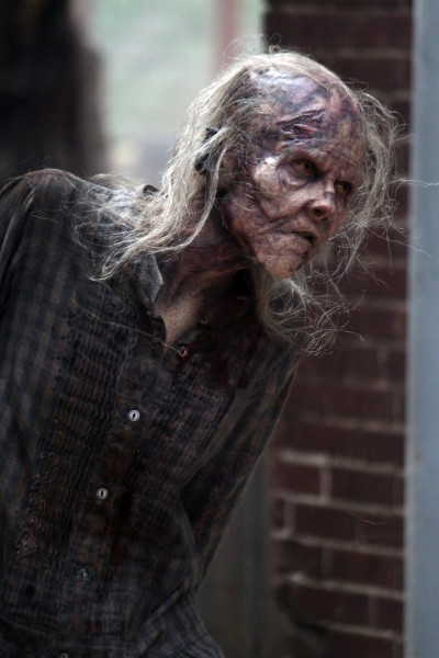 """Escena de la temporada 5 de """"The Walking Dead""""."""