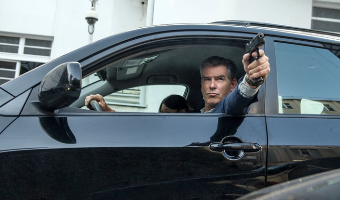 "Pierce Brosnan en ""The November Man""."