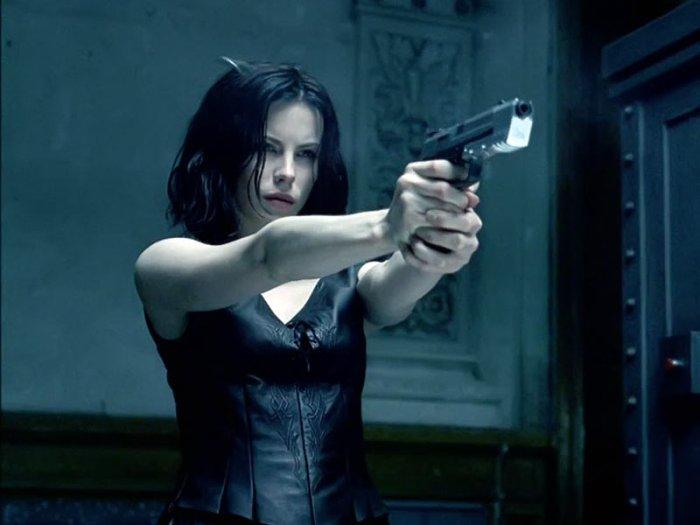 "Kate beckinsale en ""Underworld""."