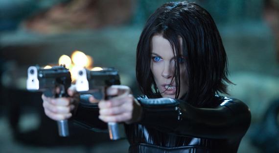 """Kate Beckinsale como Selena en """"Underworld"""" de 2003."""