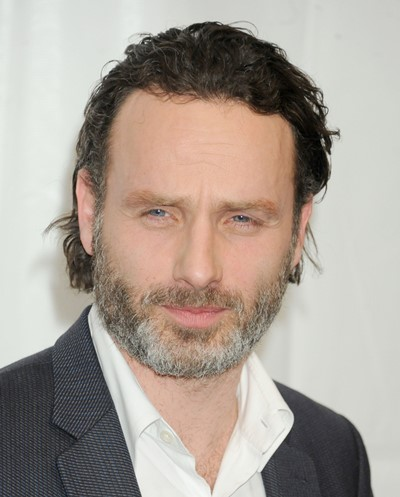 "Andrew Lincoln protagoniza la serie de TV ""The Walking Dead""."