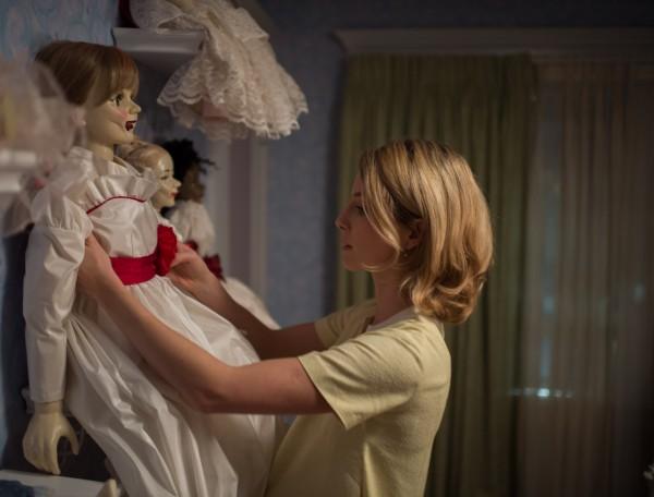 "Annabelle Wallis en ""Annabelle""."