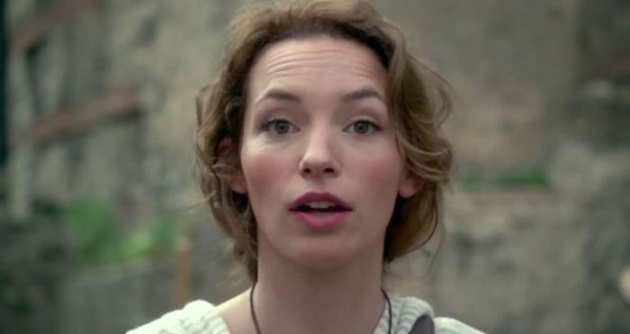 "Perdita Weeks en ""As Above, So Bellow""."