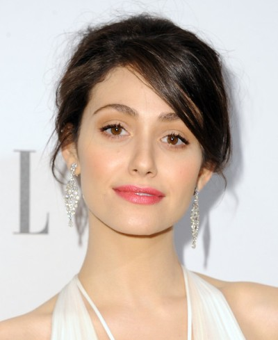 "Emmy Rossum protagoniza la serie de TV 'Shameless""  y actúa en el film por estrenar ""You're Not You""."