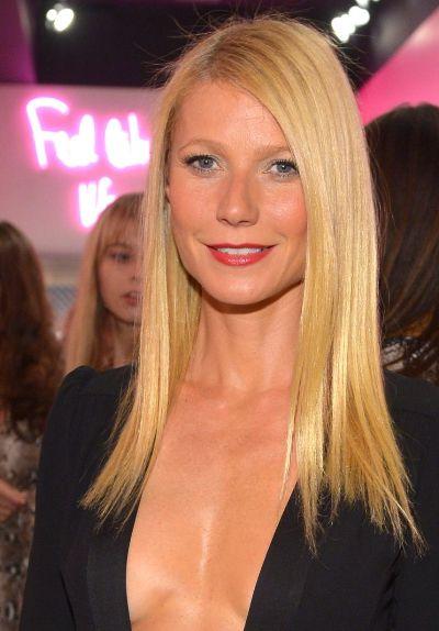 """Gwyneth Paltrow actúa ern la serie de TV """"Glee """" y en el film por estrenar """"Mortdecai""""."""