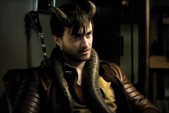 "Daniel Radcliffe en ""Horns""."