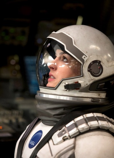 "Anne Hathaway es Brand en ""Interstellar""."