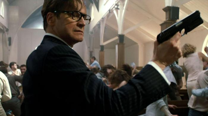 "Colin Firth es Harry Hart en ""Kingsman: The Secret Service""."