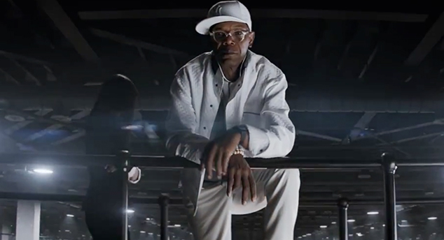 "Samuel L. Jackson es Valentine en ""Kingsman: The Secret Service""."