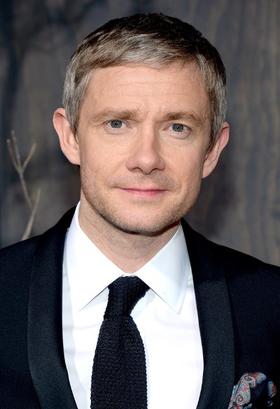 "Martin Freeman protagoniza la serie de TV ""Sherlock"" y el film por estrenar ""The Hobbit: The Battle of the Five Armies"""