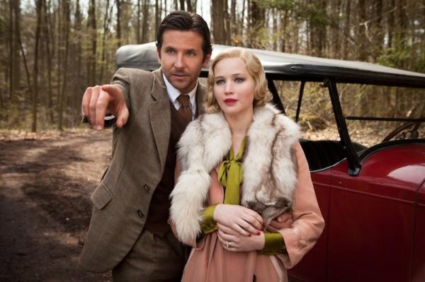 """Bradley Cooper y Jennifer Lawrence en """"Serena""""."""
