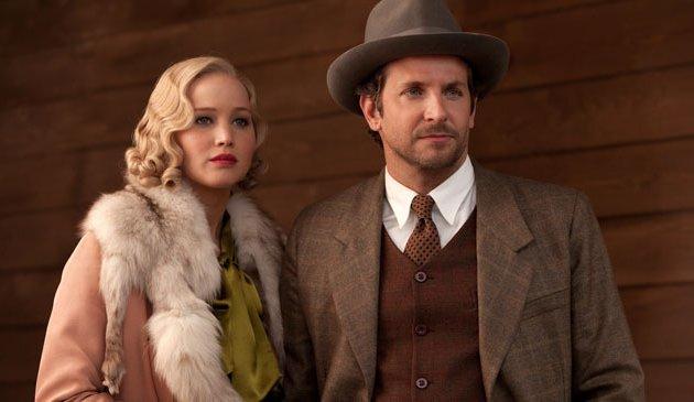 """Jennifer Lawrence y Bradely Cooper en """"Serena""""."""