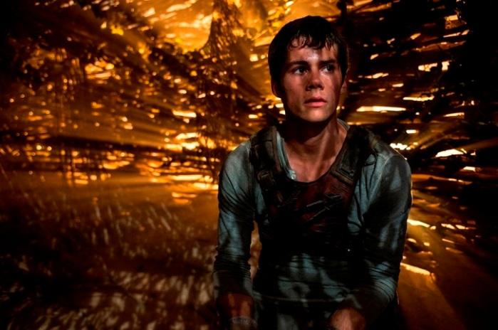"""Dylan O'Brien en """"The Maze Runner""""."""
