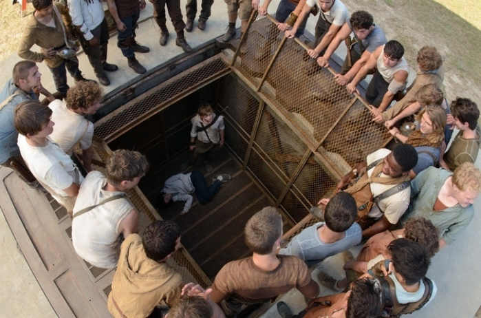 "Escena de ""The Maze Runner""."
