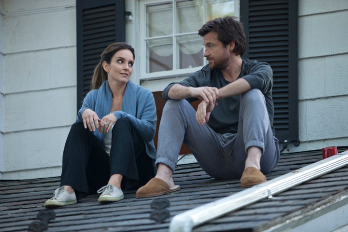 "Tina Fey y Jason Bateman en ""This Is Where I Leave You""."