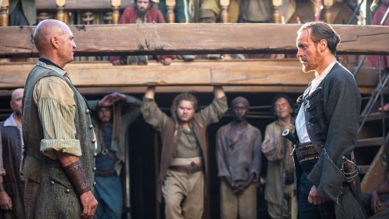 "Escena de ""Black Sails""."
