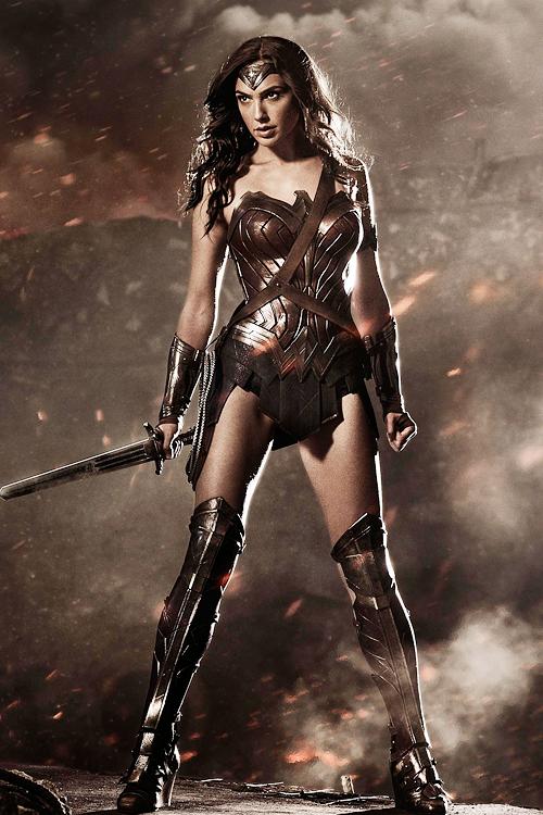 """Gal Gadot en """"Batman v Superman: Dawn of Justice""""."""