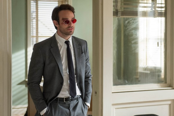 "Charlie Cox es Matt Murdock / Daredevil en la serie de netflix ""Daredevil""."