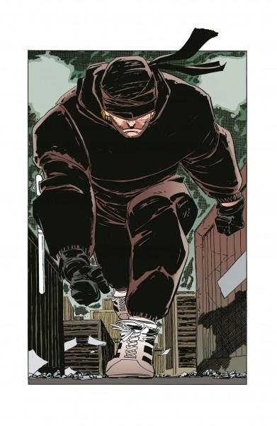 """Ilustración animada de la serie de Netflix """"Daredevil""""."""