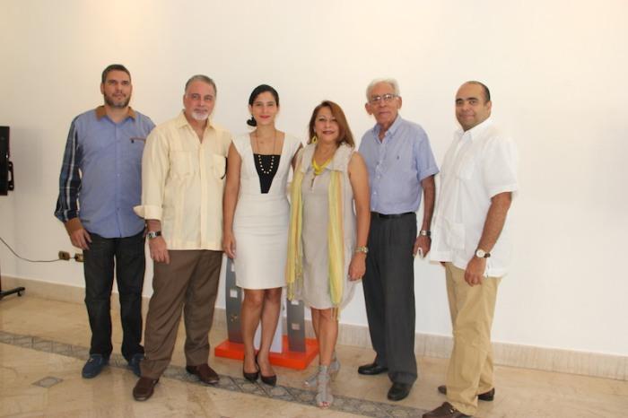 Integrantes de la Comisión Dominicana de Selección Fílmica.