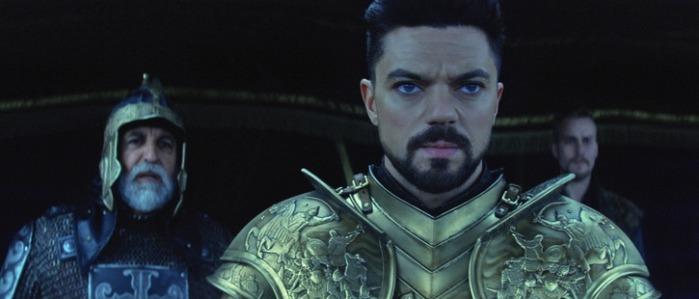 "Dominic Cooper como Mehmed en ""Dracula Untold""."