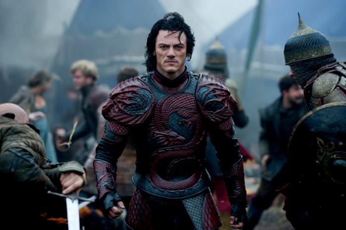 """Luke Evans como Vlad / Dracula en """"Dracula Untold""""."""
