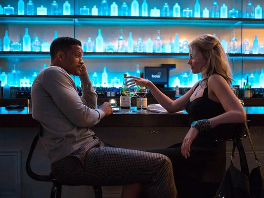 "Will Smith es Nicky y Margot Robbie es Jess en ""Focus""."