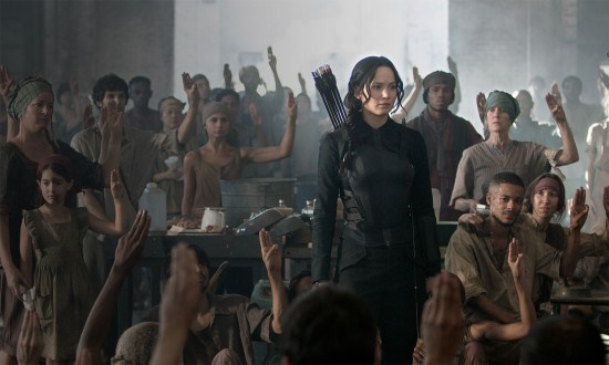 "Escena de ""The Hunger Games: Mockingjay - Part 1""."