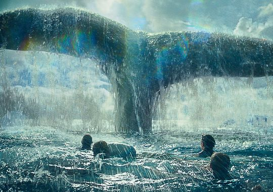 "Escena de ""In the Heart of the Sea""."