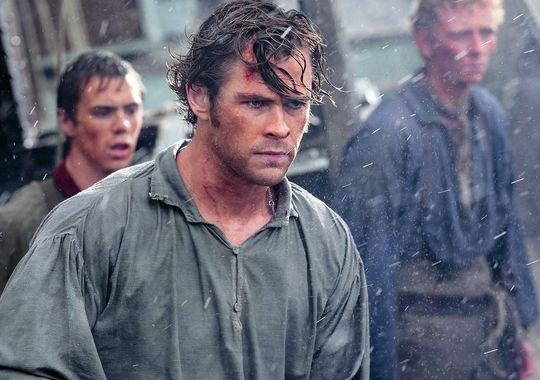 "Chris Hemsworth en ""In the Heart of the Sea""."