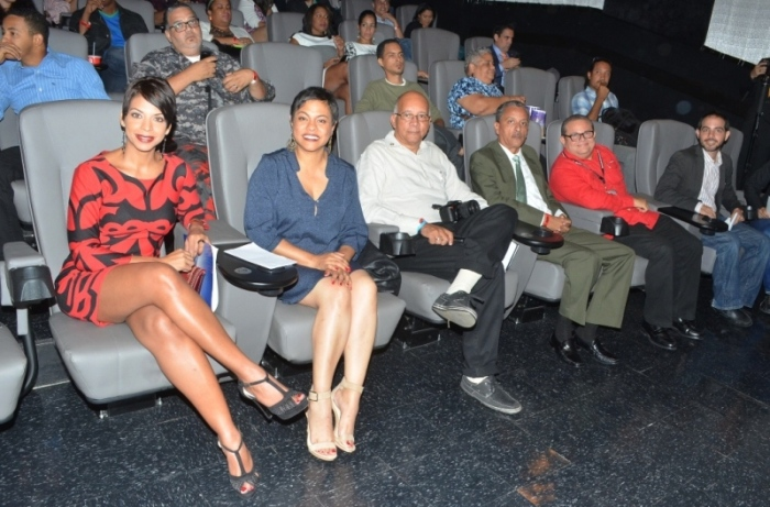 Integrantes del jurado en el V Festival Internacional de Cine de Fine Arts.