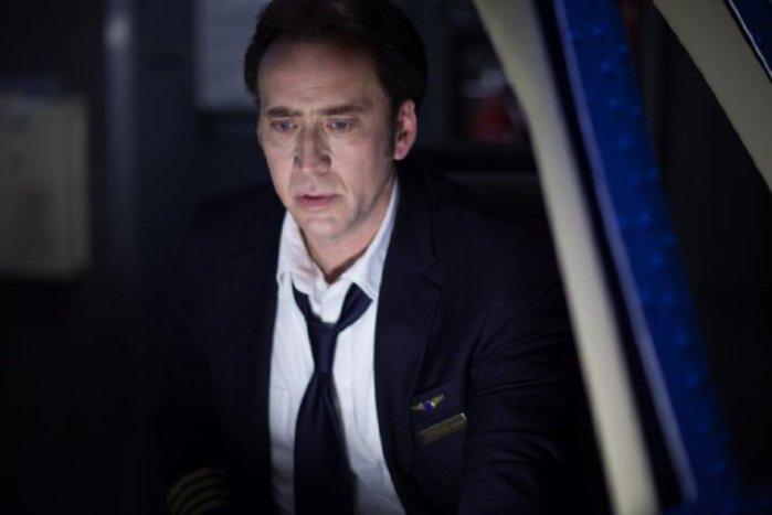 """Nicolas Cage en """"Left Behind""""."""
